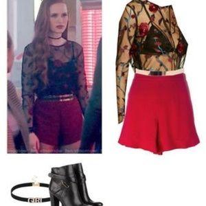 Sheer floral dress - Cheryl Blossom Riverdale